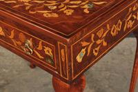 Dutch Marquetry Inlaid Walnut Side Table (12 of 12)