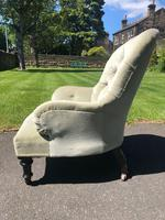 Antique English Upholstered Chair by Cornelius Smith (5 of 8)