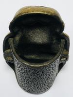 Small Brass Monkey Vesta Match Holder With Glass Eyes (13 of 17)