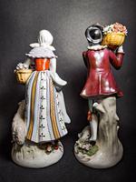 Pair of 19th Century Sitzendorf Figures (5 of 6)
