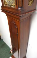 Antique Grandmother Clock 8 Gong Musical Longcase Clock with Dual Chimes by W&H c.1880 (10 of 15)