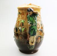Fine & Large Royal Doulton Dickens Dream Novelty Jug by Noke c.1933 (6 of 10)