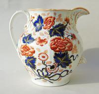 Antique Very Large Staffordshire Stone China Jug (7 of 12)