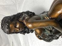Art Deco Original Cold Painted Bronze Erotic Nude Lady Sculpture (19 of 31)