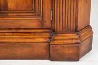 Cherry Wood Georgian Style Panelled Corner Cabinet (7 of 7)