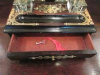 Early Victorian Coromandel Letter & Inkstand (3 of 7)