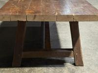 Huge Rustic French Oak Farmhouse Dining Table (16 of 35)