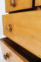Small Victorian Ash Chest of Drawers (11 of 13)