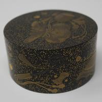 Antique Japanese Meiji Gilt & Black Lacquer Lidded Box (13 of 15)