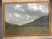 """Oil on Canvas- """"South Westerly Wind """", signed & labelled (2 of 4)"""