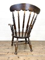 Antique 19th Century Penny Armchair (9 of 9)