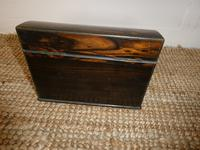 19th Century Coromandel Stationery Box (5 of 8)