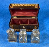 Victorian Rosewood & Tunbridge Ware Inlaid Scent Box (6 of 6)