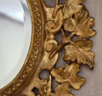 Small English Giltwood Oval Mirror (7 of 8)