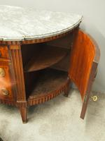 Dutch Marble Top Burr Elm Commode / Chest (6 of 13)
