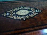 French Inlaid Amboyna Glove / Desk Box c.1870 (8 of 10)