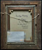 'Sunday Morning' An Enchanting Original 19thc Portrait Oil Painting' (13 of 14)