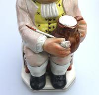 Good Staffordshire Pearlware Toby Jug Early 19th Century (10 of 12)