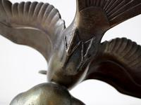 Art Deco Bronze Swooping Seagull (5 of 6)
