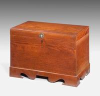 Mid 19th Century Teak Rectangular Lidded Box