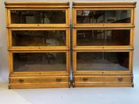 Pair of Globe Wernicke Oak Bookcases (4 of 16)