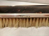 Four Piece Silver & Tortoiseshell Brush Set 1936 (12 of 13)