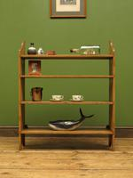 Antique Pine Display Shelves, small open kitchen shelves (9 of 13)