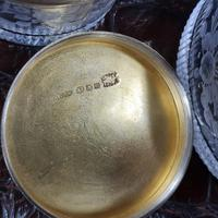 Exceptional Asprey HM Silver Gilt Fittings in Leather Case c.1935 (20 of 27)
