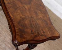Walnut Writing Table Desk 19th Century Victorian (8 of 9)