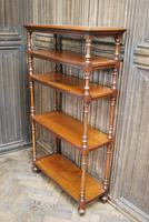Antique Walnut Whatnot/ Shelves (4 of 6)