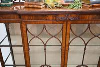 Antique Chippendale China Cabinet Mahogany Antique c.1910 (5 of 15)