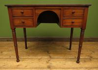 Slightly Wonky Antique Writing Table with Drawers (8 of 19)