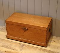 Late Victorian Pine Chest c.1880 (9 of 9)