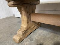 Rustic Bleached Oak Farmhouse Refectory  Table (17 of 21)