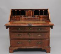 18th Century walnut & feather banded bureau (3 of 17)