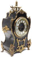 Fine French Ebony & Ormolu Boulle Mantel Clock – Farcot Skelton Dial 8 Day Mantle Clock (3 of 9)