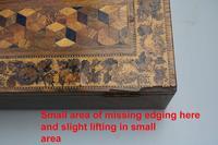 A Superior Tunbridge Ware Fitted Lap Desk Hever Castle C. 19thc (13 of 14)