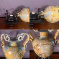 Large decorative Italian renaissance serpent vase (2 of 8)