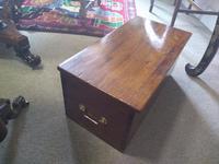 19th Century Mahogany Deed Box (2 of 6)