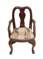 Set of Antique Child Chairs Chippendale Queen Anne (7 of 16)