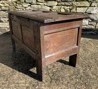 Small 17th Century Devon Oak Coffer (17 of 21)