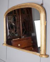 Mid 19th century gilt overmantle mirror (4 of 4)