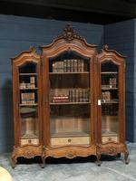 Wonderful French Walnut Bookcase or Cabinet (7 of 25)