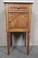 Pair of French Inlaid Mahogany Bedside Cupboards / Night Stands (8 of 14)