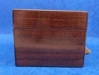 Victorian Rosewood Box with Mother of Pearl Inlay (11 of 11)