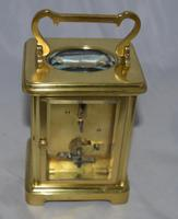 French Brass Cased Carriage Clock Roman Numerals (2 of 5)