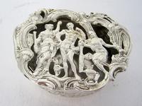 Edwardian William Comyns Silver Jewellery or Pot Pourri Box (3 of 6)