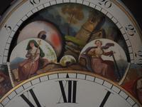 Fine English Longcase Clock John Fenton Congleton 8-day Striking Grandfather Clock Solid Mahogany Case (15 of 16)