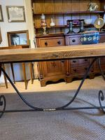 Spanish Wrought Iron Based Table (4 of 6)