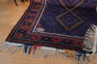 Large Mid 20th Century Afghan Baluchi Rug (8 of 12)
